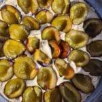 zubereitung einfacher zwetschgenkuchen mit streusel